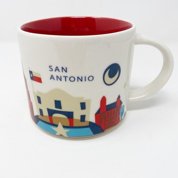 STARBUCKS You Are Here Collection ~ San Antonio